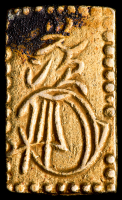 1868-69 Japan 2 Bu Shogunate Gold Coin at PristineAuction.com