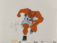 Charles Barkley Signed 1992 Dream Team USA Nike Commercial 13x17 Original Animation Production Cel (JSA COA) at PristineAuction.com