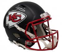 Tyreek Hill Signed Chiefs Full-Size Matte Black Speed Helmet (JSA COA) at PristineAuction.com