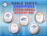 Schwartz Sports World Series Logo Signed Baseball Mystery Box Series 1 (Limited to 75) at PristineAuction.com