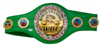 Floyd Mayweather Jr. Signed Full-Size WBC Heavyweight Championship Belt (JSA COA) at PristineAuction.com