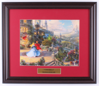 "Thomas Kinkade Walt Disney's ""Cinderella"" 16x18.5 Custom Framed Print Display at PristineAuction.com"