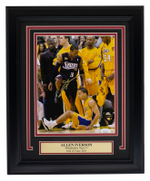 Allen Iverson Signed 76ers 11x14 Custom Framed Photo Display (JSA COA) at PristineAuction.com