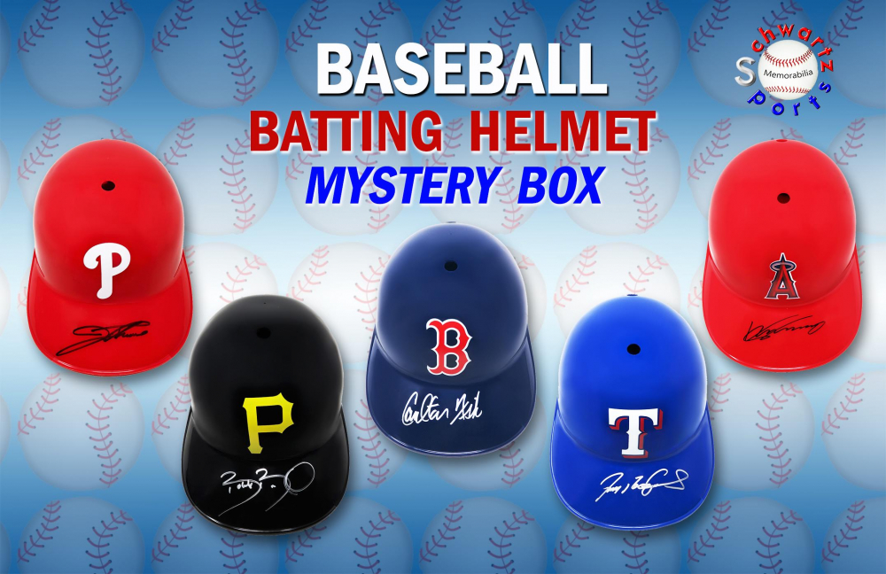 Schwartz Sports Baseball Batting Helmet Mystery Box – Series 1 (Limited to 75) at PristineAuction.com