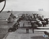 Richard E. Cole Signed World War II 8x10 Photo (Beckett COA) at PristineAuction.com
