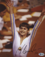 "Nadia Comaneci Signed Team Romania 8x10 Photo Inscribed ""10"" (Beckett COA) at PristineAuction.com"