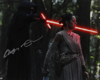 "Adam Driver & Daisy Ridley Signed ""Star Wars: The Force Awakens"" 16x20 Photo (Beckett COA) at PristineAuction.com"