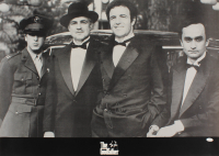 """James Caan Signed """"The Godfather"""" 24x33 Poster (JSA COA) at PristineAuction.com"""