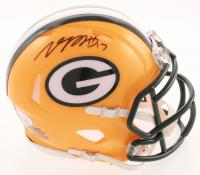Davante Adams Signed Packers Speed Mini Helmet (JSA COA) at PristineAuction.com