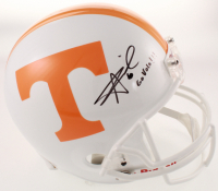 "Alvin Kamara Signed Tennessee Volunteers Full-Size Helmet Inscribed ""Go Vols!!!"" (Beckett COA) at PristineAuction.com"