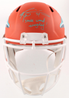 "Ricky Williams Signed Dolphins Full-Size AMP Alternate Speed Helmet Inscribed ""Smoke Weed Everyday!"" (JSA COA) at PristineAuction.com"