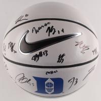 2019–20 Duke Blue Devils Logo Nike Basketball Team-Signed by (14) with Tre Jones, Wendell Moore, Jack White, Javin DeLaurier, Vernon Carey Jr. (JSA ALOA) at PristineAuction.com