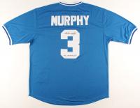 "Dale Murphy Signed Braves Jersey Inscribed ""NL MVP 82, 83"" (JSA COA) at PristineAuction.com"