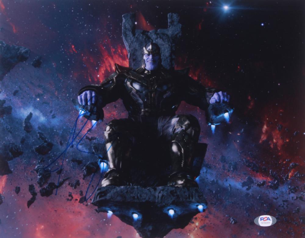 "Josh Brolin Signed ""Avengers"" 11x14 Photo (PSA Hologram) at PristineAuction.com"