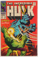 "1968 ""The Incredible Hulk"" Issue #110 Marvel Comic Book at PristineAuction.com"