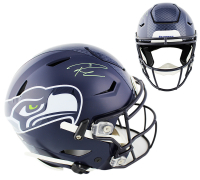 Russell Wilson Signed Seahawks Full-Size Authentic On-Field SpeedFlex Helmet (Mill Creek Sports COA) at PristineAuction.com