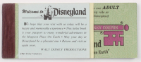 Vintage Disneyland Ticket Coupon Booklet at PristineAuction.com