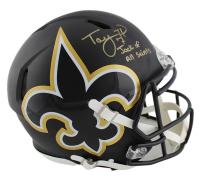 "Taysom Hill Signed Saints Full-Size Authentic On-Field AMP Alternate Speed Helmet Inscribed ""Jack of all Saints"" (Radtke COA) at PristineAuction.com"