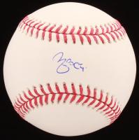 Yadier Molina Signed OML Baseball (MLB Hologram) at PristineAuction.com