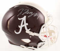 Jerry Jeudy Signed Alabama Crimson Tide Full-Size Authentic On-Field Speed Helmet (JSA COA) at PristineAuction.com