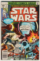 "1977 ""Star Wars"" Issue #5 Marvel Comic Book at PristineAuction.com"