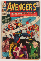 "1964 ""The Avengers"" Issue #7 Marvel Comic Book at PristineAuction.com"