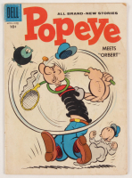 "Vintage 1958 ""Popeye"" Issue #44 Dell Comic Book at PristineAuction.com"