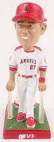 2014 & 2016 Mike Trout Angles MVP Double Bobblehead at PristineAuction.com