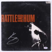 "Bono Signed U2 ""Rattle and Hum"" Vinyl Record Album (PSA Hologram) at PristineAuction.com"