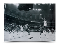 Michael Jordan Signed Bulls 30x40 Photo (UDA COA) at PristineAuction.com