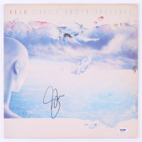 "Geddy Lee Signed Rush ""Grace Under Pressure"" Vinyl Record Album (PSA Hologram) at PristineAuction.com"