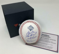 Washington Nationals LE 2019 World Series Logo Baseball Signed by (15) with Howie Kendrick, Patrick Corbin, Max Scherzer, Anthony Rendon, Juan Soto (Fanatics Hologram) at PristineAuction.com