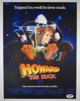 "Ed Gale Signed ""Howard The Duck"" 11x14 Photo Inscribed ""Howard T. Duck"" (PSA COA) at PristineAuction.com"