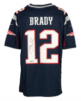 Tom Brady Signed Patriots Nike Jersey (TriStar Hologram) at PristineAuction.com