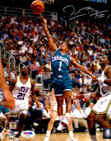 Muggsy Bogues Signed Hornets 8x10 Photo (PSA COA) at PristineAuction.com