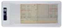 """George Herman """"Babe"""" Ruth Signed 3x5 Cut (PSA Encapsulated) at PristineAuction.com"""