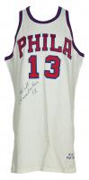 Wilt Chamberlain Signed 1966-67 76ers Jersey (UDA COA & PSA LOA) at PristineAuction.com