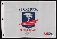 Jordan Spieth Signed 2019 U.S. Open Pin Flag (JSA COA) at PristineAuction.com