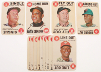 Lot of (13) 1968 Topps Game Baseball Cards with #2 Mickey Mantle, #8 Willie Mays, #27 Al Kaline, #29 Rod Carew at PristineAuction.com