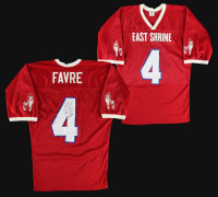 "Brett Favre Signed East Shrine Game-Used Jersey Inscribed ""Game Used Shrine Game MVP 1/26/91"" (JSA LOA & Favre LOP) at PristineAuction.com"