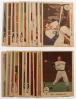 Lot of (22) 1959 Fleer Ted Williams Baseball Cards with #25 / 1945 / Ted Is Discharged & #61 / 1957 / Outfielder Ted at PristineAuction.com