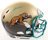 Gardner Minshew Signed Jaguars Full-Size Authentic On-Field Hydro-Dipped Helmet (Beckett COA) at PristineAuction.com