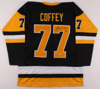 "Paul Coffey Signed Jersey Inscribed ""H.O.F. 04"" (Beckett COA) at PristineAuction.com"