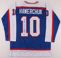 "Dale Hawerchuk Signed Jersey Inscribed ""HOF 01"" (Beckett COA) at PristineAuction.com"