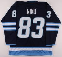 Sami Niku Signed Jersey (Beckett COA) at PristineAuction.com