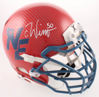 Chase Winovich Signed Patriots Full-Size Authentic On-Field Hydro-Dipped Helmet (Beckett COA) at PristineAuction.com