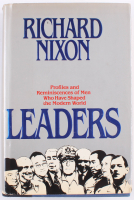 """Richard Nixon Signed """"Leaders: Profiles & Reminiscences Of Men Who Have Shaped The Modern World"""" Hardcover Book (PSA COA) at PristineAuction.com"""