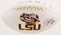 Joe Burrow Signed LSU Tigers Logo Football (PSA COA) at PristineAuction.com