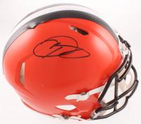 Odell Beckham Jr. Signed Browns Full-Size Speed Helmet (JSA COA) at PristineAuction.com