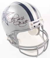 Ezekiel Elliott Signed Cowboys Full-Size Speed Helmet  (Beckett COA) at PristineAuction.com